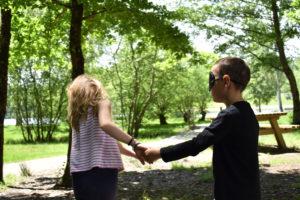 animation scolaire à la Catiche, Chantournons dans les bois
