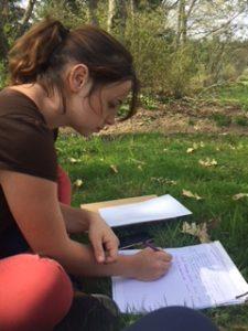 chasse aux trésors au Jardin pour la Terre à Arlanc, Puy de dôme