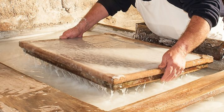 Atelier de fabrication de papier «Mets la main à la pâte»