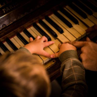 atelier musique pour enfants à l'Atelier du Sardier