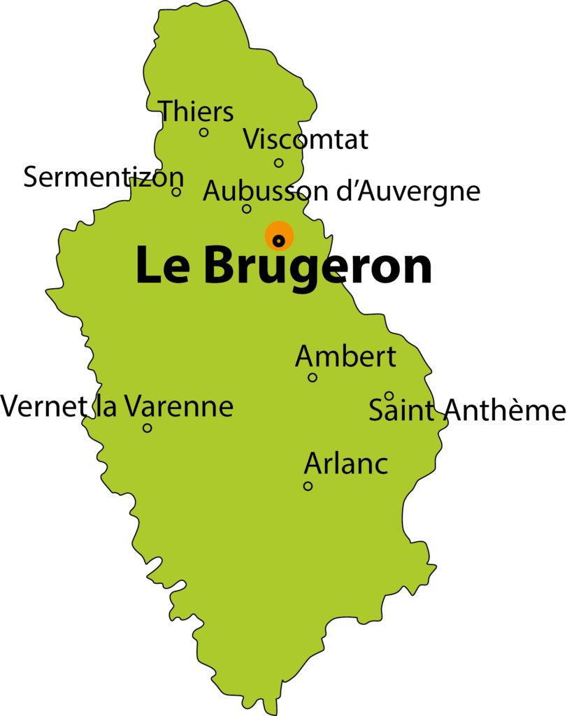 carte Le Brugeron