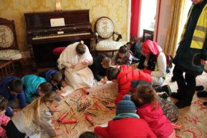 animation scolaires le château des merveilles au château d'Aulteribe