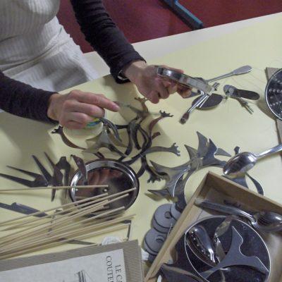 recyclage au musée de la coutellerie à Thiers